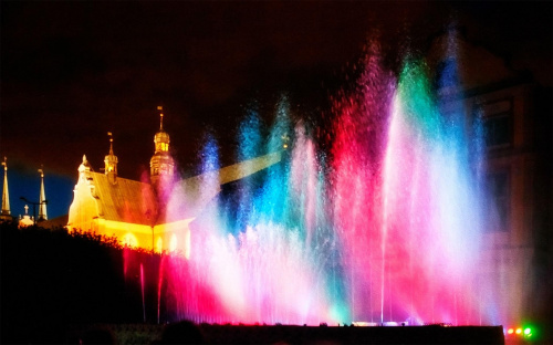 kolorowe fontanny #Mozzartiada