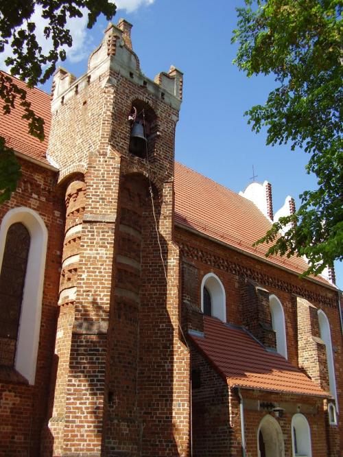Kamionna, kościół z 1499 r. #architecture #architektura