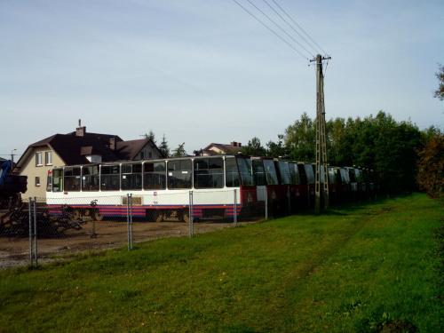 Wozy ze Szczecina na początku października 2013 #cmentarz #lubicz #toruń #tramwaje