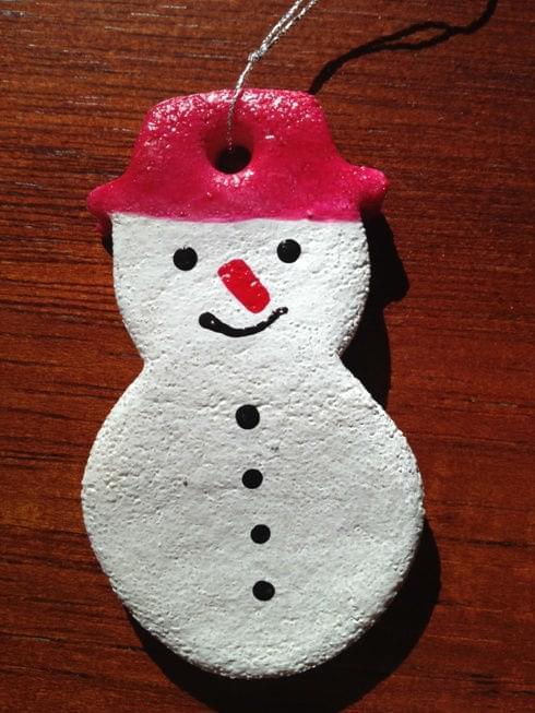 bałwanek #BożeNarodzenie #drobne #MasaSolna #ozdoby #Święta #upominki #zabawki #zima