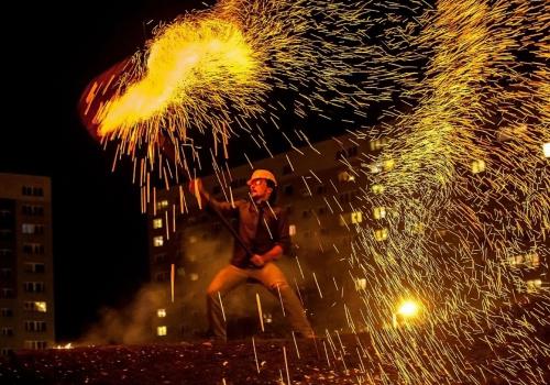 Władca ognia #TaniecOgnia
