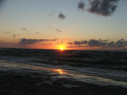 #zachód #morze