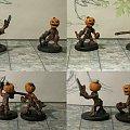 Dziecię dyni #Dragons #Dungeons #Figurki #Lochy #miniatures #Ręczne #Smoki