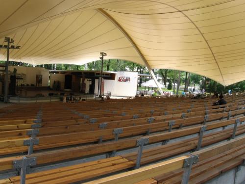 Amfiteatr z widownią na 2100 miejsc #BeskidŚląski
