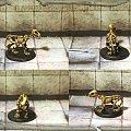 Pies szkielet #Dragons #Dungeons #Figurki #handmade #Lochy #miniatures #Ręczne #Smoki