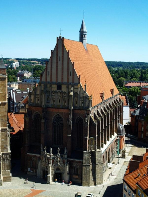 Katedra w Nysie #Nysa #katedra #architektura