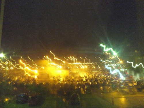 #miasto #noc #parking #przedmioty #światła