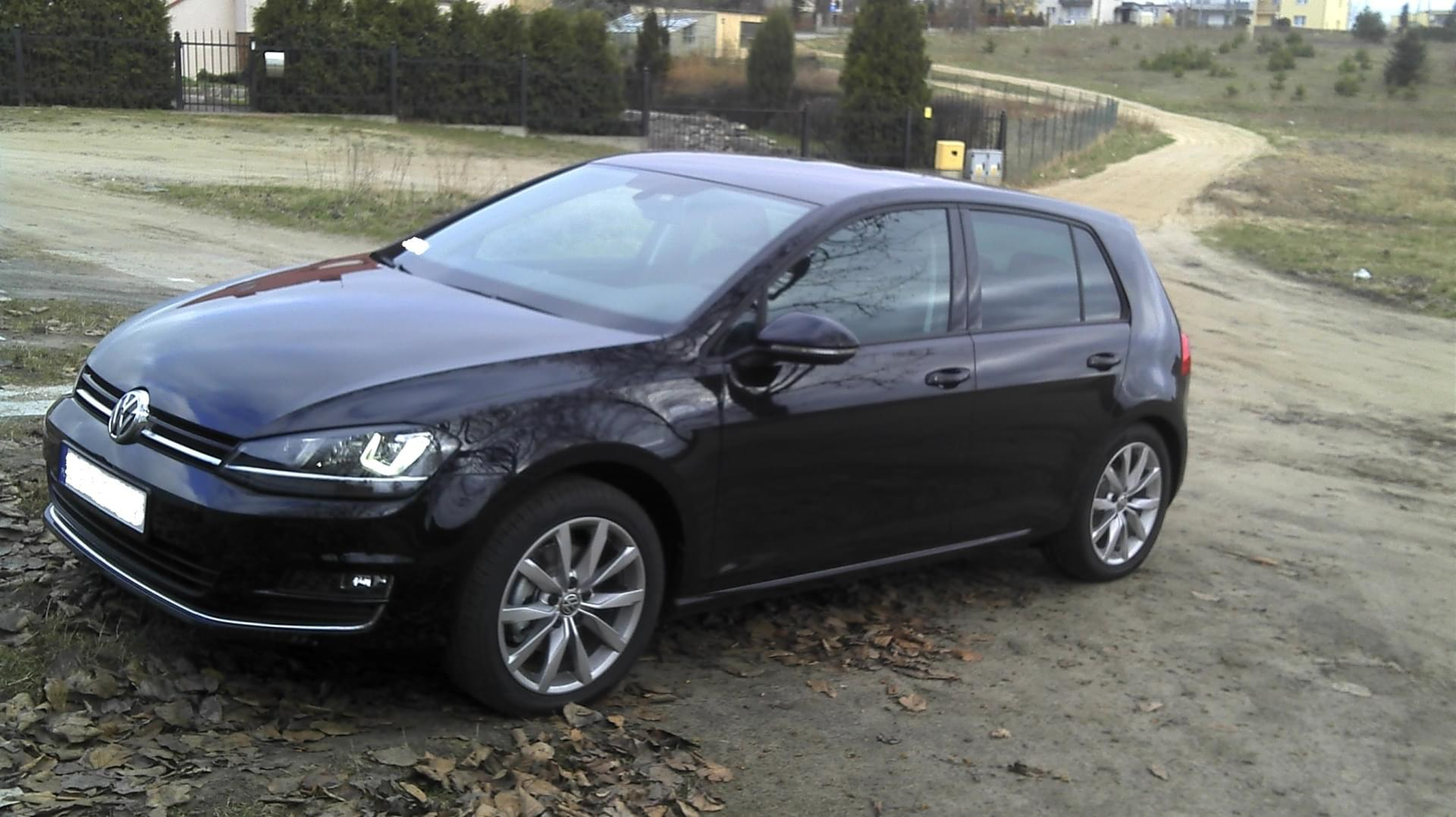 forum temat vw golf 7 1 4 tsi 122km 2014 highline czarna per a. Black Bedroom Furniture Sets. Home Design Ideas