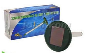 solarny odstraszacz
